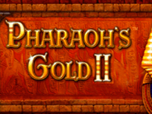 В Вулкане Pharaohs Gold 2 на деньги без СМС